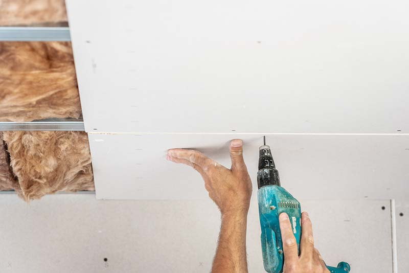 Pose de plaque de plâtre : les erreurs à éviter